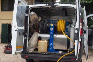 idrojet ad alta pressione autospurgo roma